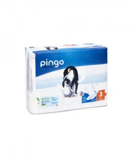 Pañales ecológicos T3 Pingo