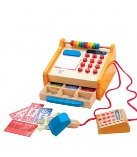 Juguete madera caja registradora - Hape