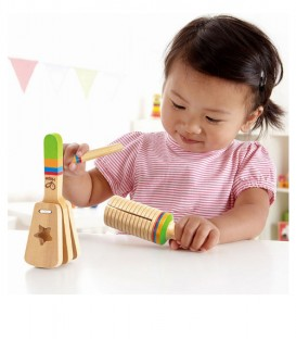 Set de ritmo Stay-put Rattle Set Hape