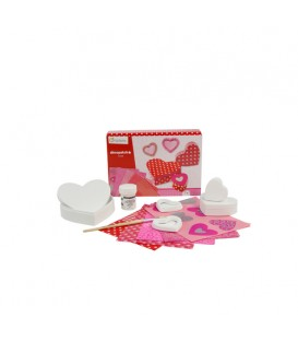 Caja creativa Decopatch Love kit - Avenue Mandarine