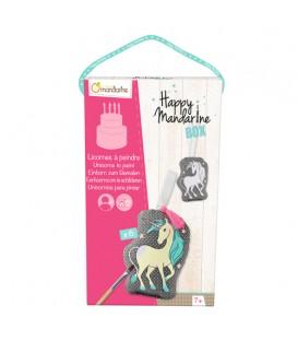 Caja Mandarine box para pintar unicornios - Avenue Mandarine