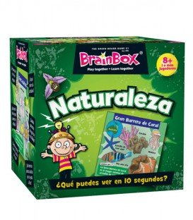 Juego de memoria Brainbox Naturaleza