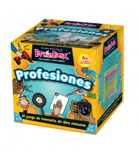 Juego de memoria Brainbox Profesiones