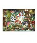 Puzzle gigante castillo mágico 48 piezas Ludattica