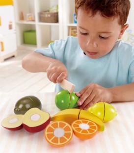 Frutitas para cortar Hape