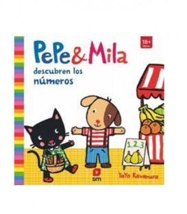Libro Pepe y Mila aprenden los números