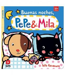 Libro BUENAS NOCHES PEPE Y MILA