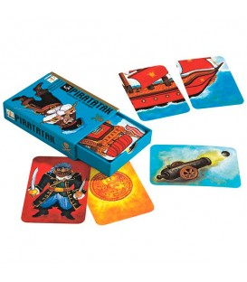 Juego de cartas Piratatak - Djeco