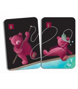Juego de cartas Mistigri de parejas - Djeco