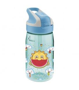Botella reutilizable de tritan con tapón summit 0,45 l - LAKEN