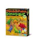 Moldea y pinta dinosaurios - 4M