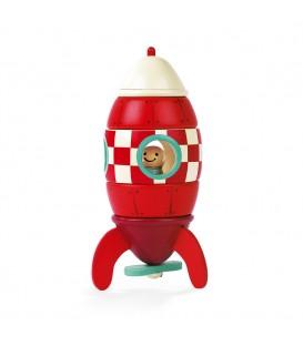 Kit de imánes cohetes (madera) - Janod