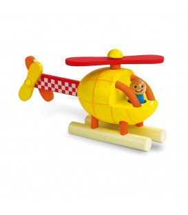 Kit de imanes helicóptero (madera) - Janod