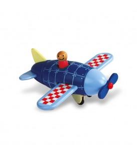 Kit de imanes avión (madera) - Janod