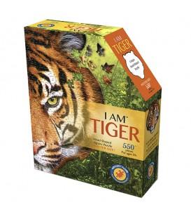 Puzzle tigre 550pcs wow