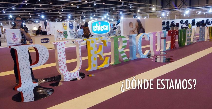 Porteofeliz en la Feria Puericultura Madrid IFEMA 2016